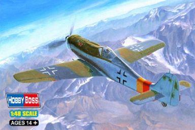 【中古】プラモデル 1/48 フォッケウルフ Fw190D-9 「エアクラフトシリーズ」 [81716]