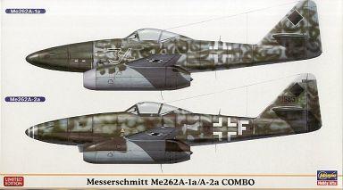 【中古】プラモデル 1/72 ドイツ空軍 戦闘/爆撃機 メッサーシュミット Me262A-1a/A-2a コンボ LIMITED EDITION [01915]