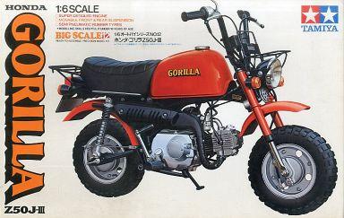 【中古】プラモデル 1/6 ホンダ ゴリラ Z50J-III 「オートバイシリーズ No.12」 ディスプレイモデル [16012]