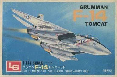 【中古】プラモデル 1/144 グラマン F-14 トムキャット 「ジェット機シリーズ No.4」 [A114]