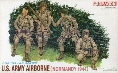 【中古】プラモデル 1/35 U.S.アーミー空挺部隊(ノルマンディー 1944) 4体セット 「'39-'45 SERIES」 [6010]