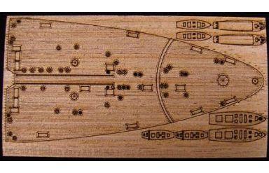 1/700 伊 戦艦 ローマ用(ピットロード用) 木製甲板 グレード
