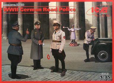 【新品】プラモデル 1/35 WW.II ドイツ憲兵 [35633]