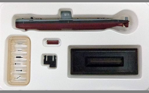 【中古】プラモデル 1/700 おやしお(1960年・日本) 「世界の艦船 海上自衛隊潜水艦史」