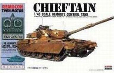 【新品】プラモデル 1/48 イギリス陸軍戦車チーフテン 「リモコンタンクシリーズNo.3」 モーターライズキット