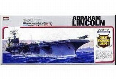 【中古】プラモデル 1/800 空母 リンカーン 「戦艦・空母シリーズ No.16」