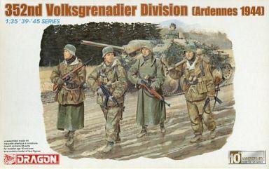 【中古】プラモデル 1/35 352nd Volksgrenadier Division(Ardennes 1944) -ドイツ第352国民擲弾兵師団(アルデンヌ1944)- 4体セット 「'39-'45 SERIES」 [6169]