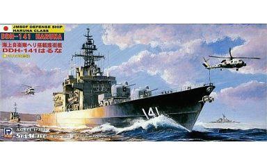 【中古】プラモデル 1/700 海上自衛隊ヘリ搭載護衛艦 DDH-141 はるな(FRAM改修後) 「スカイウェーブシリーズ」 [J27]