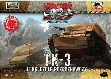 投げ売り堂 - 1/72 ポ・TK-3 小型戦車 マシンガン搭載型 [PF72005]_00