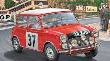 1 24 ミニクーパー 1964 モンテカルロラリー 07064 新品 プラモデル 通販ショップの駿河屋