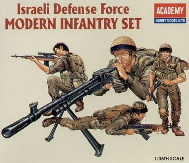【中古】プラモデル 1/35 Israeli Defense Force MODERN INFANTRY SET(4体セット) -イスラエル国防軍 近代歩兵- [1368]