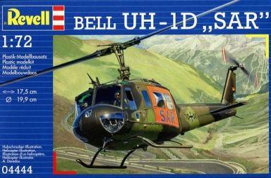 """【中古】プラモデル 1/72 ベル UH-1D """"SAR"""" [04444]"""