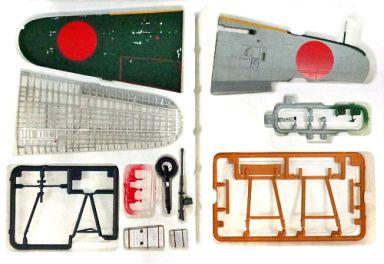 【中古】プラモデル 1/48 零式艦上戦闘機 52型 左主翼部 「連斬模型シリーズ」