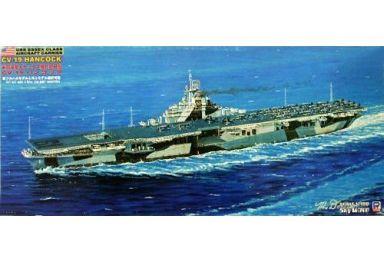 1/700 米国海軍エセックス級航空母艦 CV-19 ハンコック 「スカイウェーブシリーズ」 [W99]