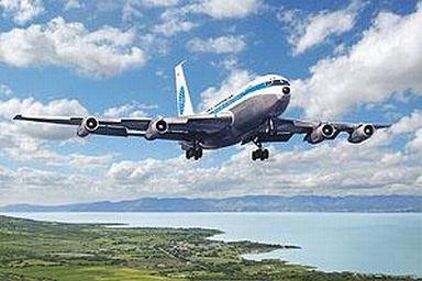 【新品】プラモデル 1/144 米 ボーイング 720B 旅客機 パンナム [014T319]