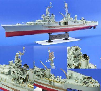 【中古】プラモデル 1/350 USS CA-35 インディアナポリス (アカデミー用) エッチングパーツ [EDU53101]
