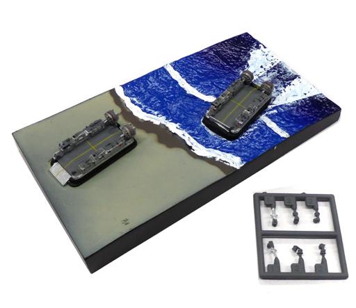 【中古】プラモデル 1/700 海自エアクッション艇・LCAC 「TMW 日本沈没 D2計画篇」