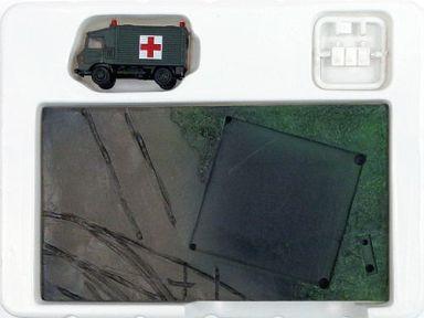 【中古】プラモデル 1/144 陸自1トン半救急車&救護用エアドーム 「TMW 日本沈没 D2計画篇」