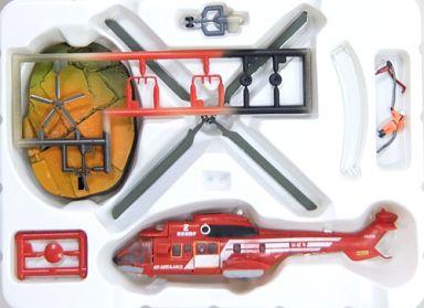 【中古】プラモデル 1/144 消防庁救難ヘリ スーパーピューマ 「TMW 日本沈没 D1計画篇」