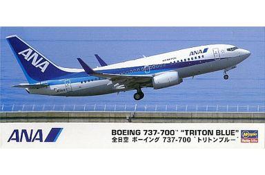 """【中古】プラモデル 1/200 全日空 ボーイング 737-700 """"トリトンブルー"""" [10669]"""
