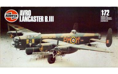 【中古】プラモデル 1/72 AVRO LANCASTER B.III -アブロ ランカスター B.III- シリーズNo.8 [08002]