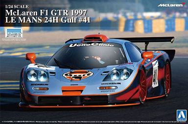 "1/24 McLaren F1 GTR 1997 Le Mans 24 hours Gulf # 41 ""Supercar series No.19"""