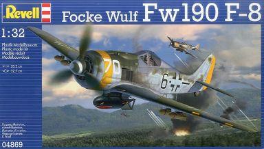 【新品】プラモデル 1/32 フォッケウルフ Fw 190F-8 [04869]