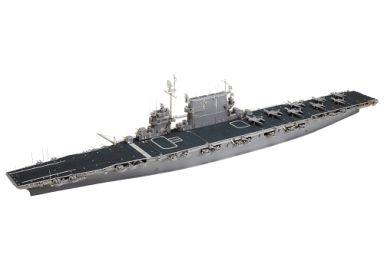 【新品】プラモデル 1/700 アメリカ海軍 航空母艦 CV-3 サラトガ (ポントスモデル社ディテールアップパーツセット付き) ディスプレイモデル [25179]