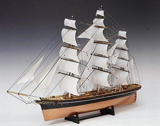 1/100 木製帆船模型 カティサーク