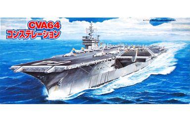 【中古】プラモデル 1/700 アメリカ海軍航空母艦 CVA64 コンステレーション 「シーウェイモデルシリーズ」 [44128]