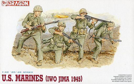 【新品】プラモデル 1/35 WW.II アメリカ海兵隊 硫黄島 [DR6038]
