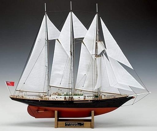 1/75 木製帆船模型 サー・ウィンストン・チャーチル