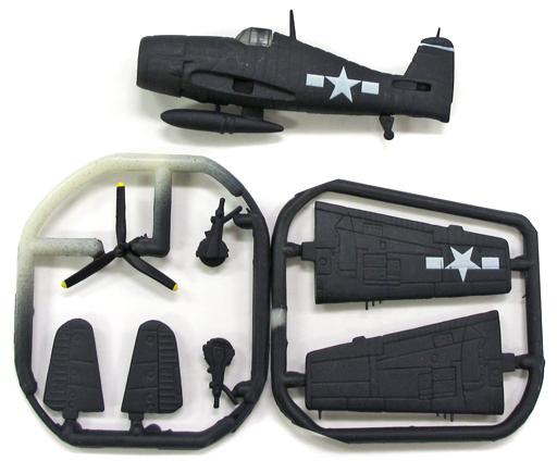 【中古】プラモデル 1/144 グラマン F6F-3 ヘルキャット 「WWII FIGHTER COLLECTION 1」