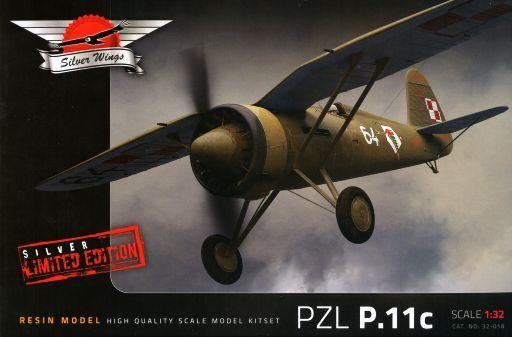 【中古】プラモデル 1/32 ポーランド戦闘機 PZL P.11c フルレジンキット [SVW32018]
