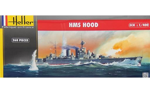 【中古】プラモデル 1/400 HMS HOOD -英国海軍 戦艦 HMSフッド- [81081]