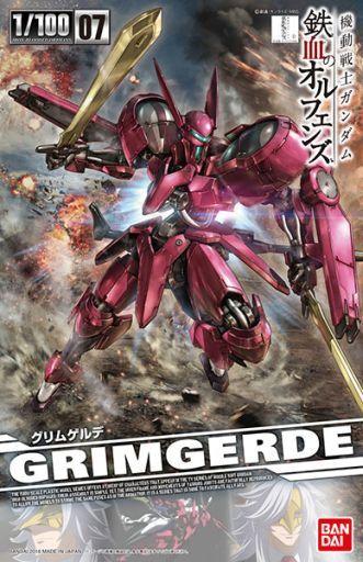 【新品】プラモデル 1/100 グリムゲルデ 「機動戦士ガンダム 鉄血のオルフェンズ」