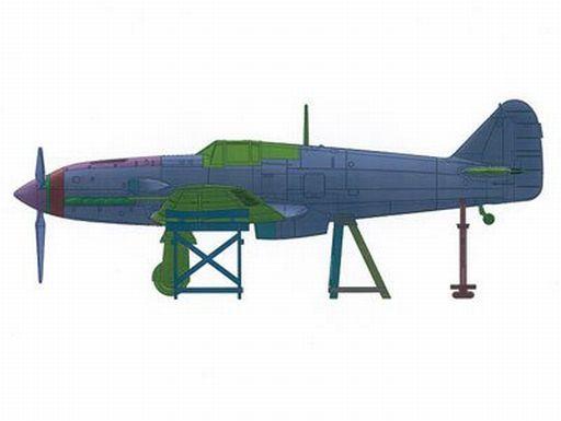 投げ売り堂 - 1/72 三式戦II型 飛燕角型風防 「真・大戦機シリーズ No.14」_00