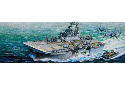 【新品】プラモデル 1/350 アメリカ海軍強襲揚陸艦 LHD-1 ワスプ [05611]