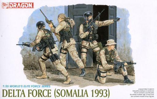 【新品】プラモデル 1/35 アメリカ陸軍 特殊部隊 デルタフォース ソマリア 1993 [DR3022]