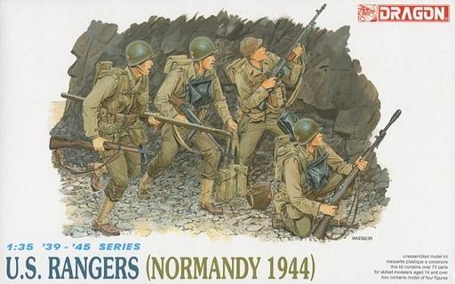 【新品】プラモデル 1/35 WW.II アメリカ軍レンジャー部隊 ノルマンディ1944 [DR6021]