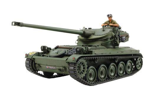 投げ売り堂 - 1/35 フランス軽戦車 AMX-13 「ミリタリーミニチュアシリーズ No.349」 ディスプレイモデル [35349]_00