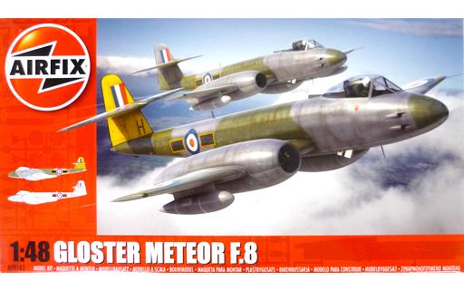【中古】プラモデル 1/48 グロスター ミーティア F.8 [AIRA09182]