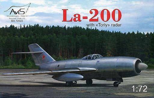 【新品】プラモデル 1/72 露・ラボーチキン La-200 直列双発ジェット試験機 トリーレーダー型 [AV7222]