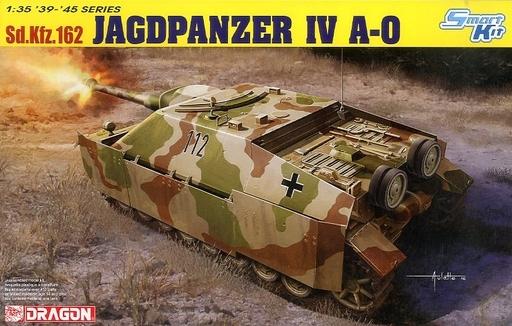 【新品】プラモデル 1/35 WWII ドイツ軍 Sd.Kfz.162 IV号駆逐戦車 A-0(スマートキット) [DR6843]