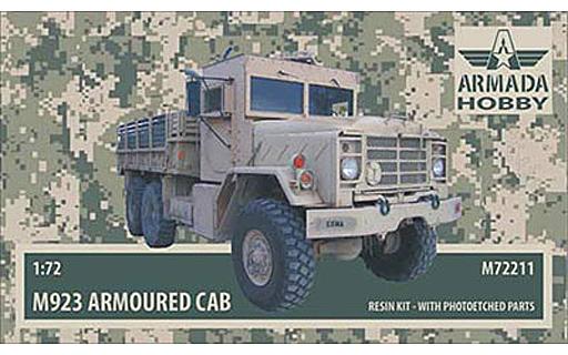【新品】プラモデル 1/72 米・M923ビッグフット・装甲キャブ・カーゴトラック レジンキャストキット [HAM211]