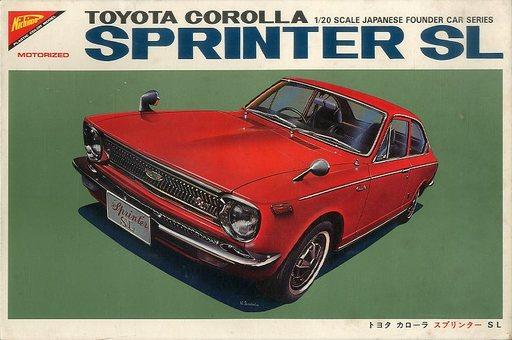 【中古】プラモデル 1/20 トヨタ カローラ スプリンター SL 「JAPANESE FOUNDER CAR SERIES」 モーターライズキット [MC2032]