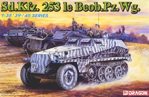 【中古】プラモデル 1/35 WW.II ドイツ軍 Sd.Kfz.253 ハーフトラック 軽装甲付観測車 [DR6140]