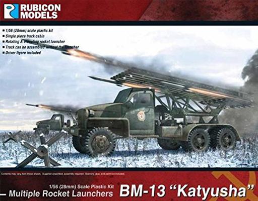 【新品】プラモデル 1/56 BM-13 カチューシャ [RB0036]