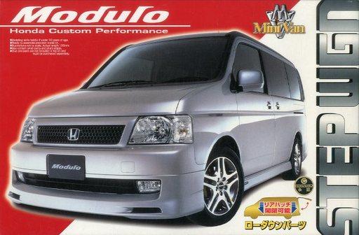 【中古】プラモデル 1/24 ステップワゴン モデューロ 2001年仕様 「ミニバンシリーズ No.10」 [0030363]