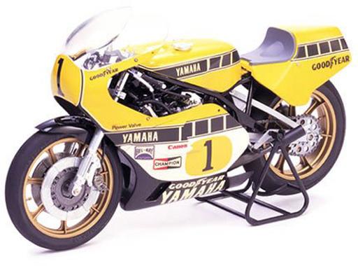 投げ売り堂 - 1/12 ヤマハ YZR500 グランプリレーサー 「オートバイシリーズ No.1」 ディスプレイモデル [14001]_00